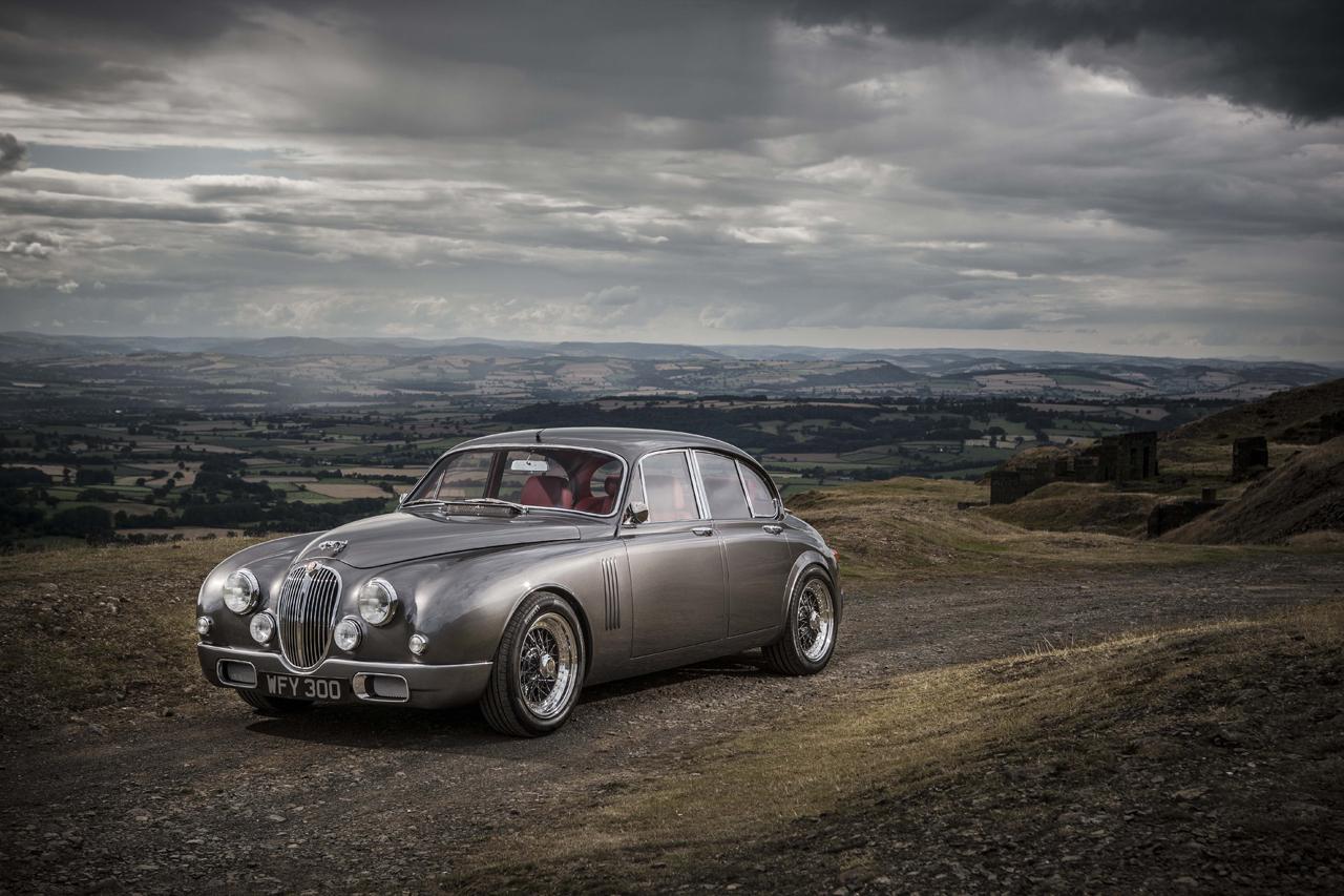 Jaguar reproduit une Mark 2 des années 60