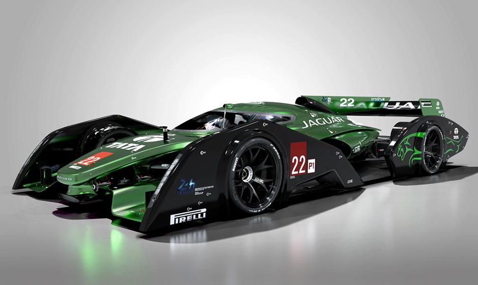 Un Transformers ? Non, un proto Jaguar pour Le Mans !