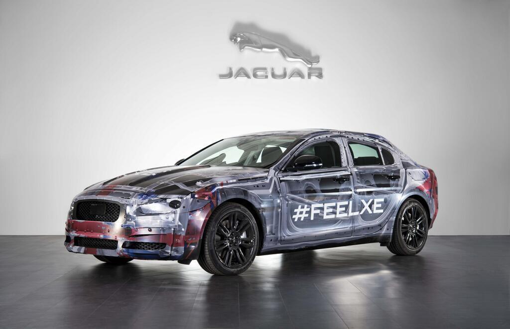 La future Jaguar XE se dévoile
