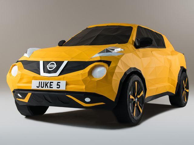Nissan créé un Juke en origami
