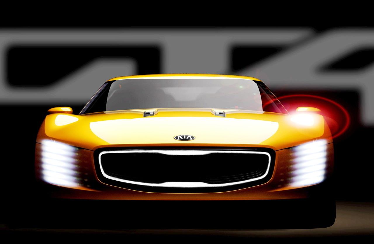 Kia GT4 Stinger Concept : premières photos du nouveau protoype de Kia