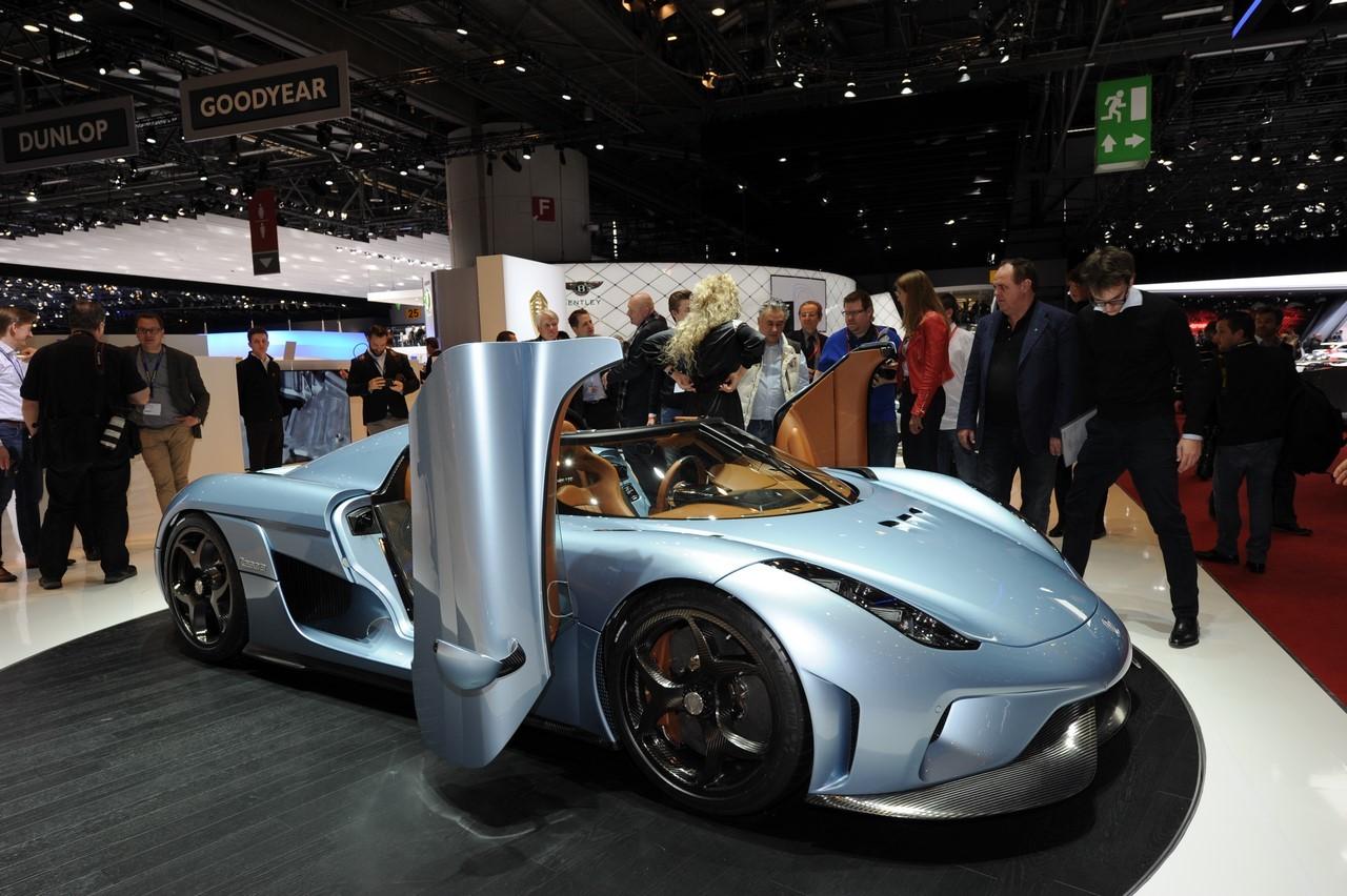Salon de Genève 2015 : Koenigsegg Regera 1500 ch sous le capot