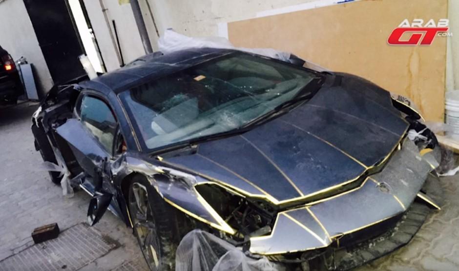 A vendre, Lamborghini Aventador, 90 000 euros seulement, mais...