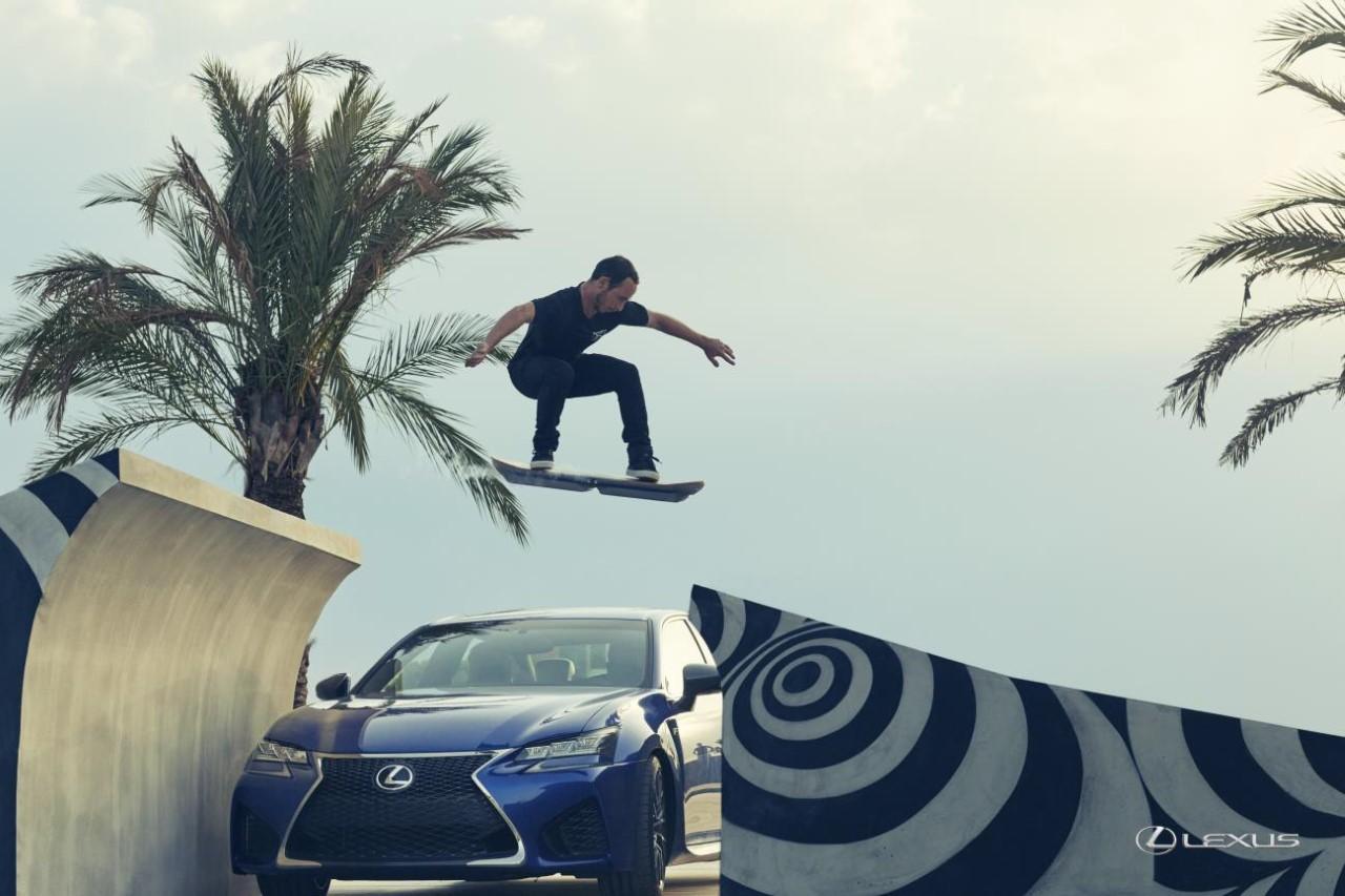 Vidéo : l'hoverboard créé par Lexus en action