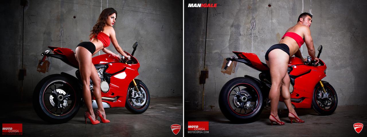 Quand Ducati détourne ses propres publicités