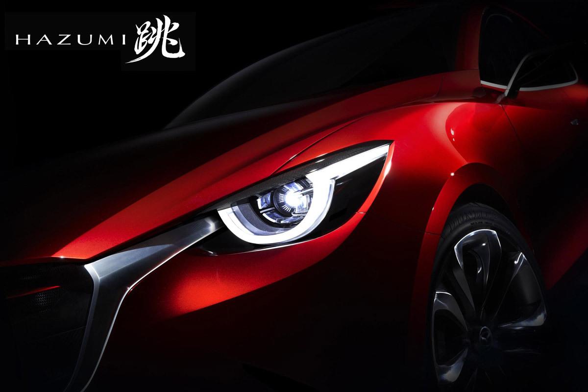 Mazda Hazumi, un concept pour réveiller la Mazda 2