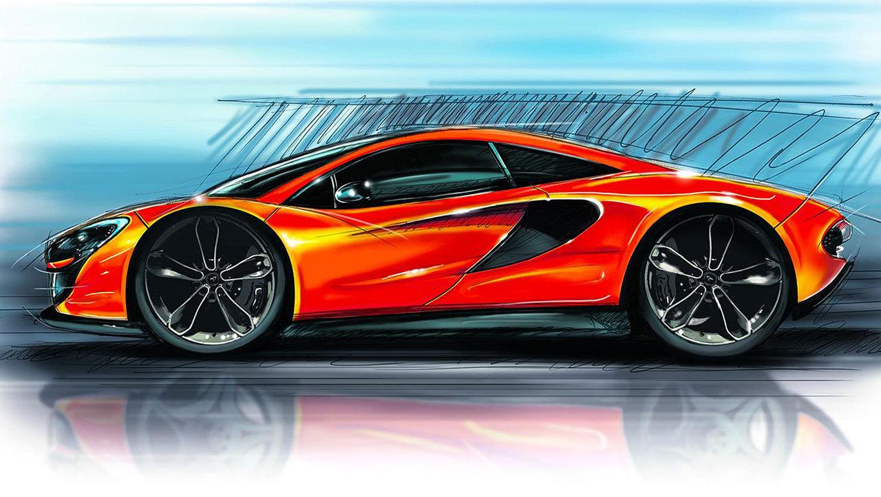 La nouvelle McLaren P13 se dévoile