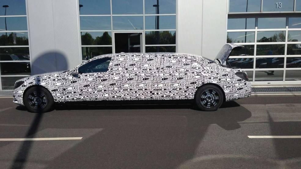 Mercedes Classe S : une limousine d'exception en préparation