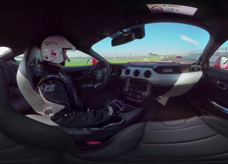 Vidéo 360 : un tour de Silverstone à bord de la Ford Mustang