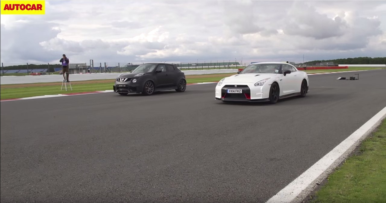 Nissan GT-R Nismo vs Nissan Juke-R 2.0 : l'affrontement à 1 200 ch !