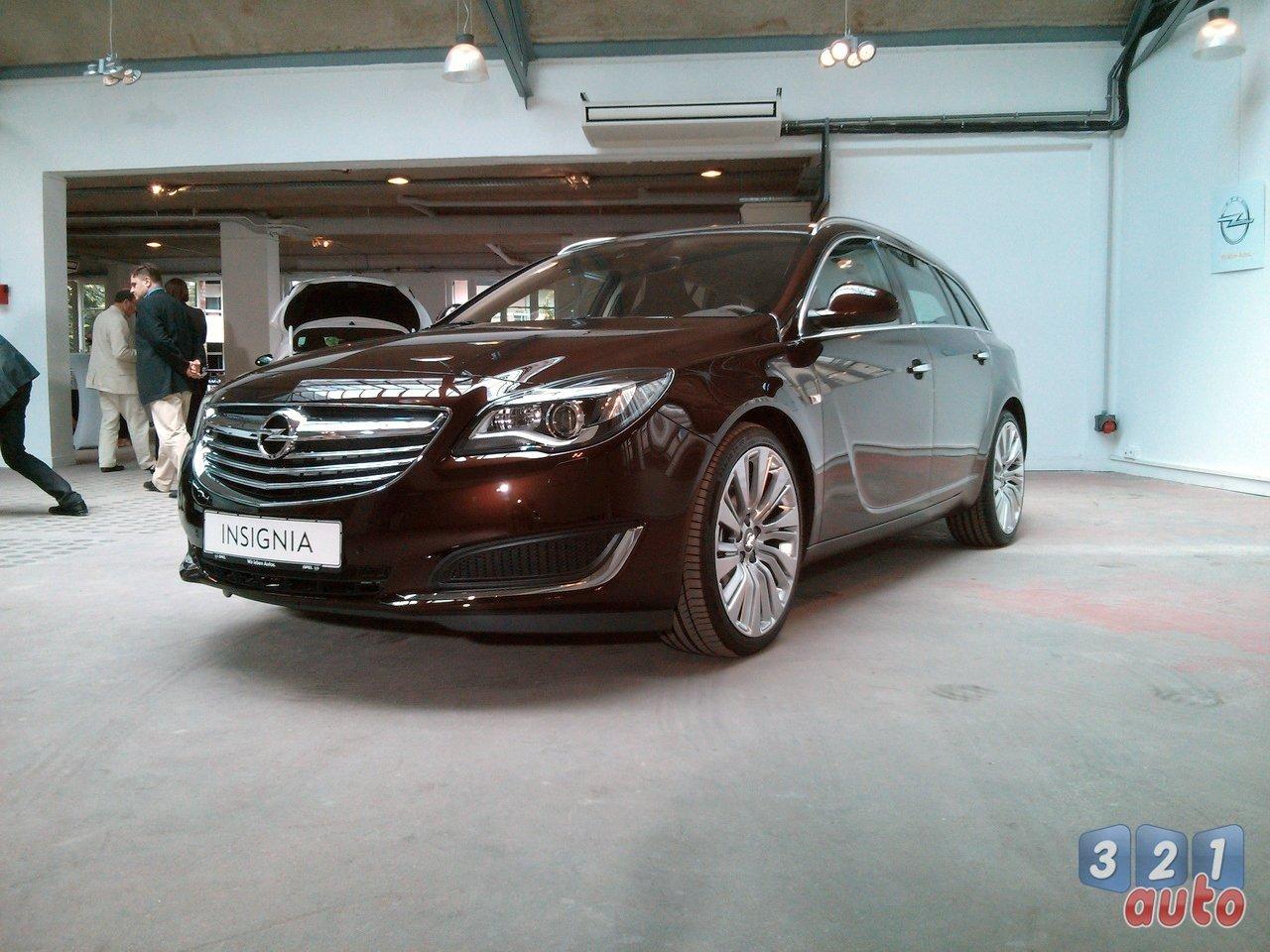 VIDEO - Nous sommes montés à bord de la nouvelle Opel Insignia