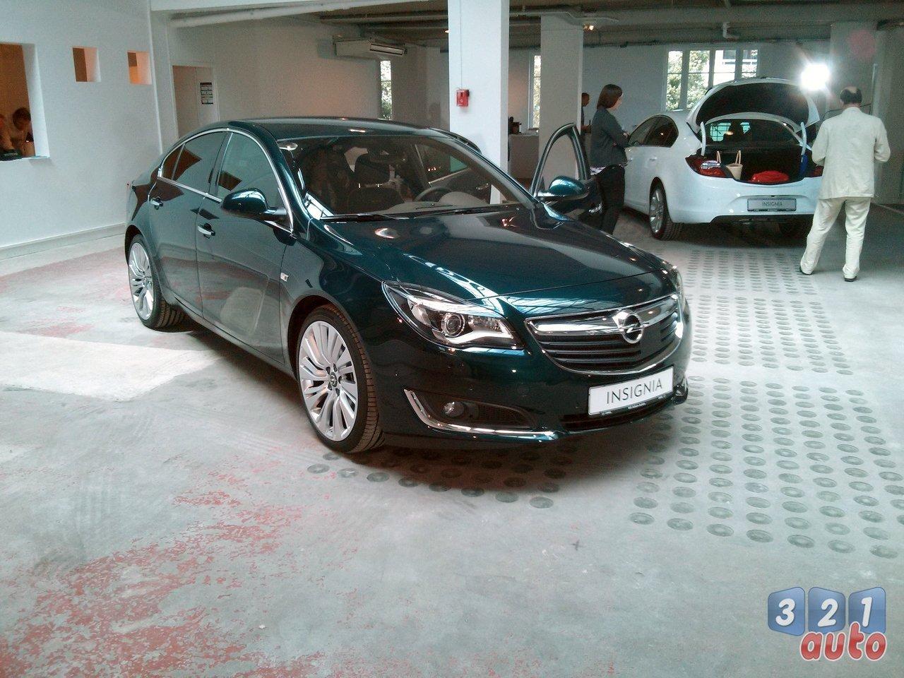 Opel dévoile les prix de l'Insignia restylée