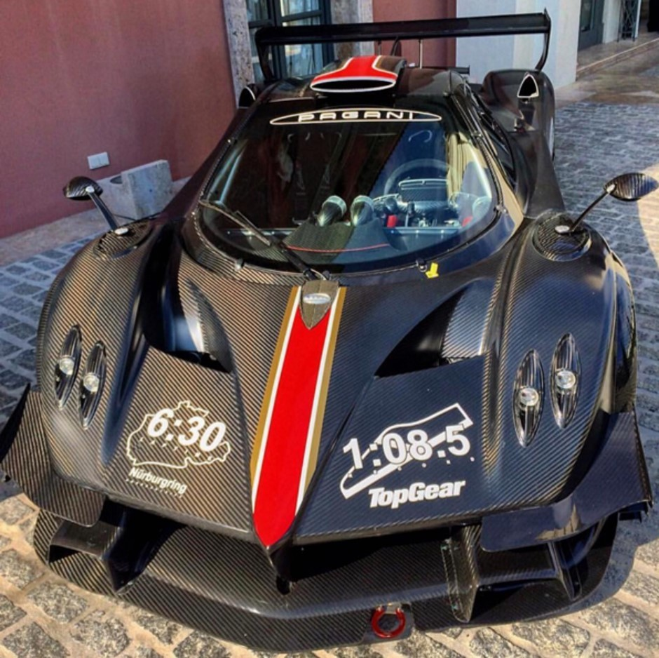 Un chrono record de 6 min 30 au Nürburgring pour une Zonda ?