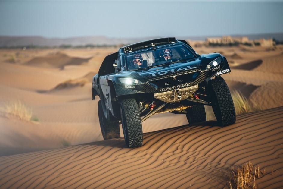 Le Peugeot 2008 DKR 2016 à l'assaut du Dakar