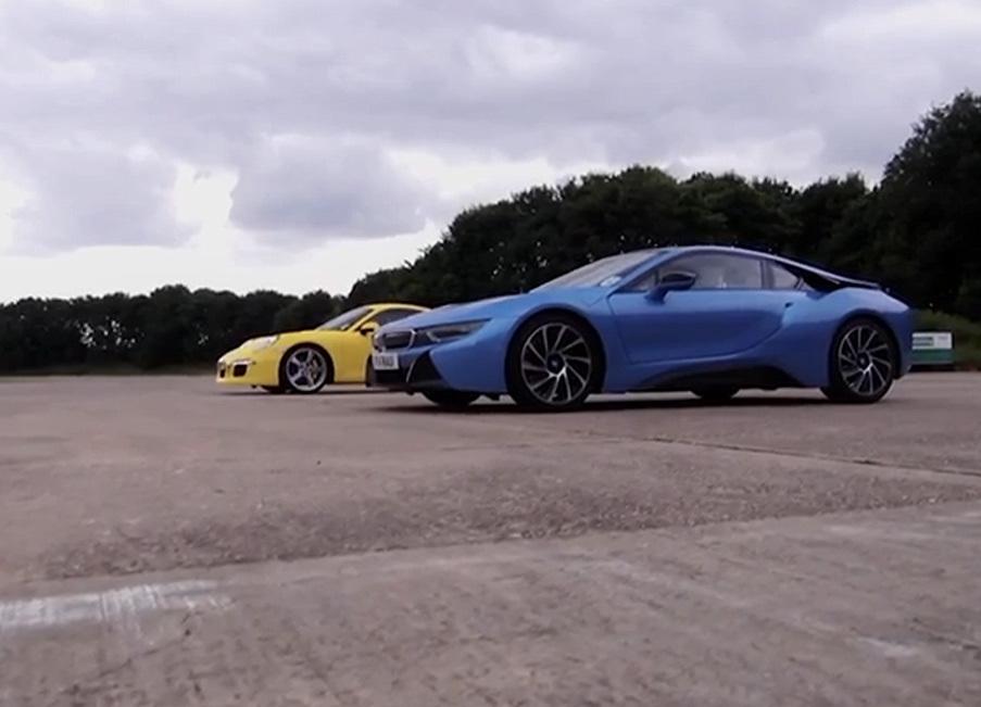 Duel en vidéo : Porsche 911 contre BMW i8