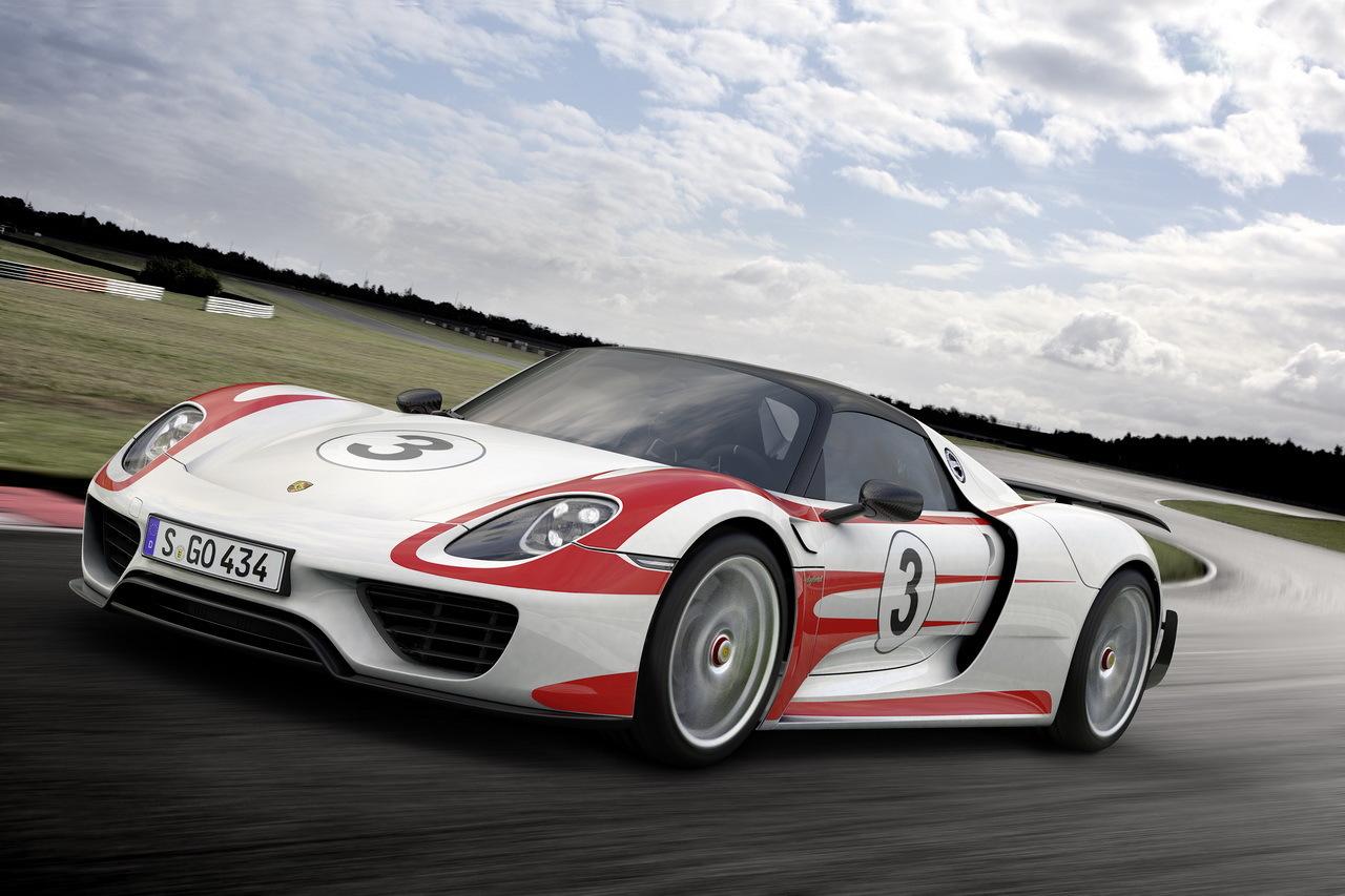 Porsche 918 Spyder : 2,1 secondes gagnées sur le 0 à 300 km/h !