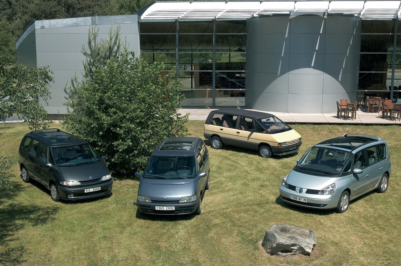 Trente ans de Renault Espace, de l'audace à la routine