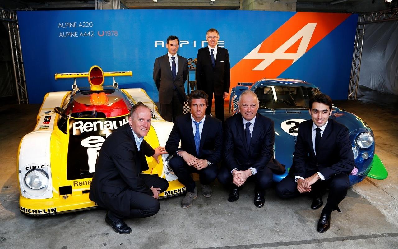 Alpine fait son grand retour aux 24 Heures du Mans 2013