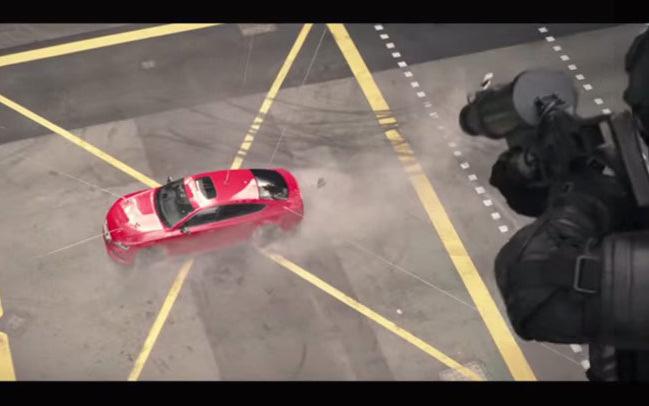 Trailer d'Hitman : ça défouraille en Audi RS7 !