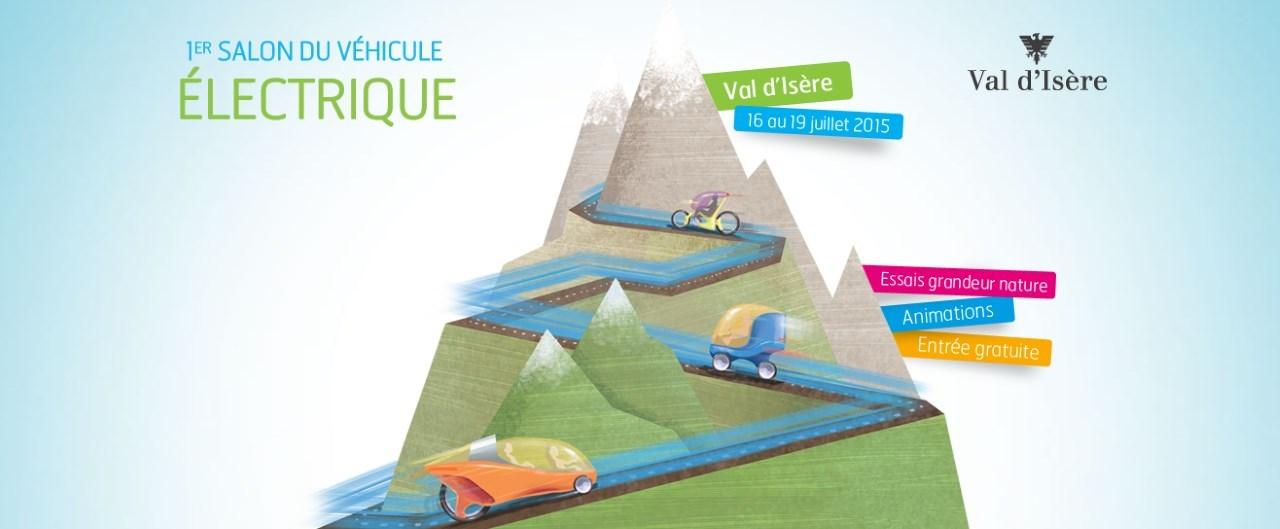 Présentation du salon du véhicule électrique de Val d'Isère