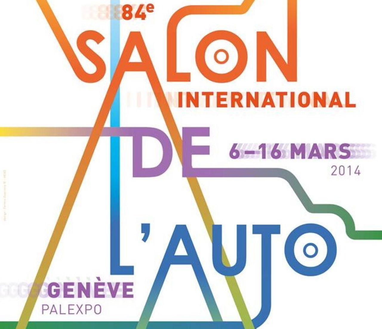 Salon de Genève : l'affiche de l'édition 2014 dévoilée