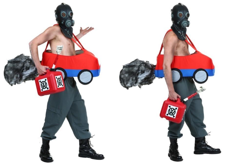 Tricherie Volkswagen : un costume pour Halloween