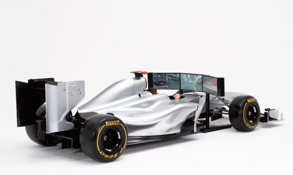 Idée cadeau : le simulateur F1 taille réelle