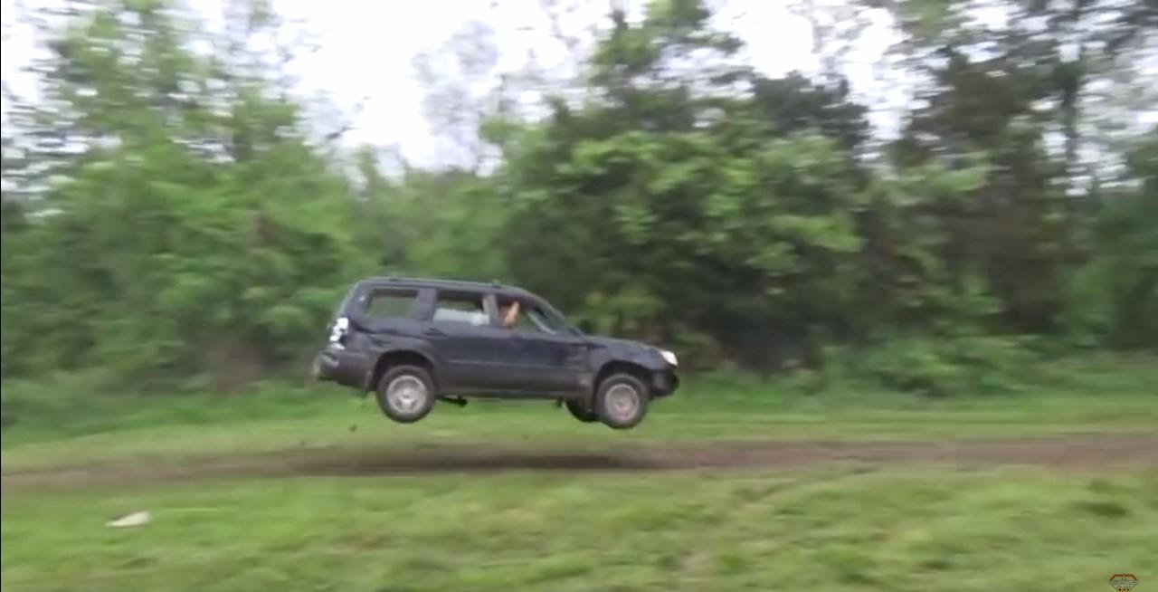 Vidéo : l'éclate totale en Subaru Forester