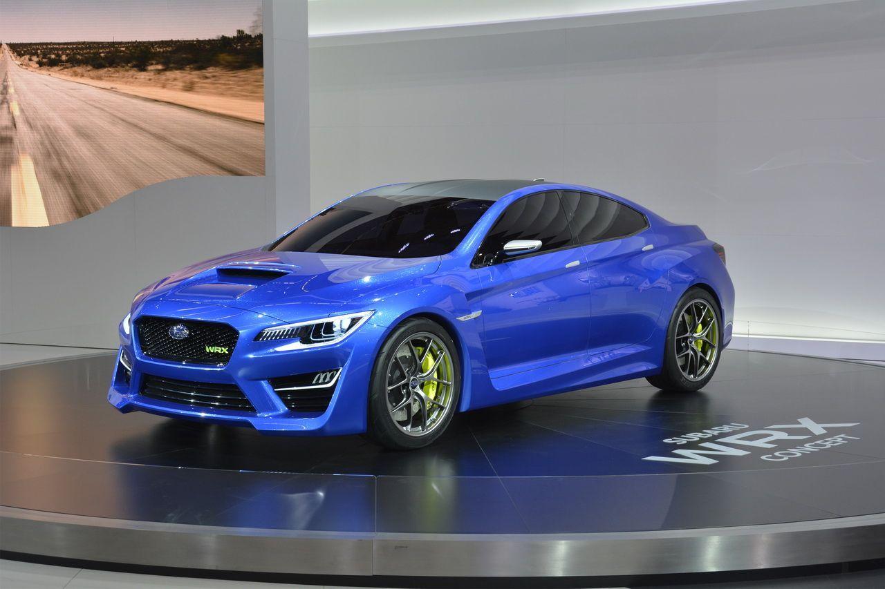 Francfort 2013 : premier salon européen pour la Subaru WRX Concept