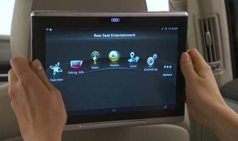Vidéo : démonstration de la première tablette signée Audi