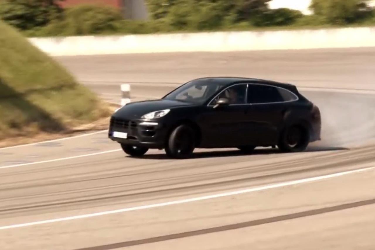 VIDEO - Le nouveau Porsche Macan en glisse sur circuit