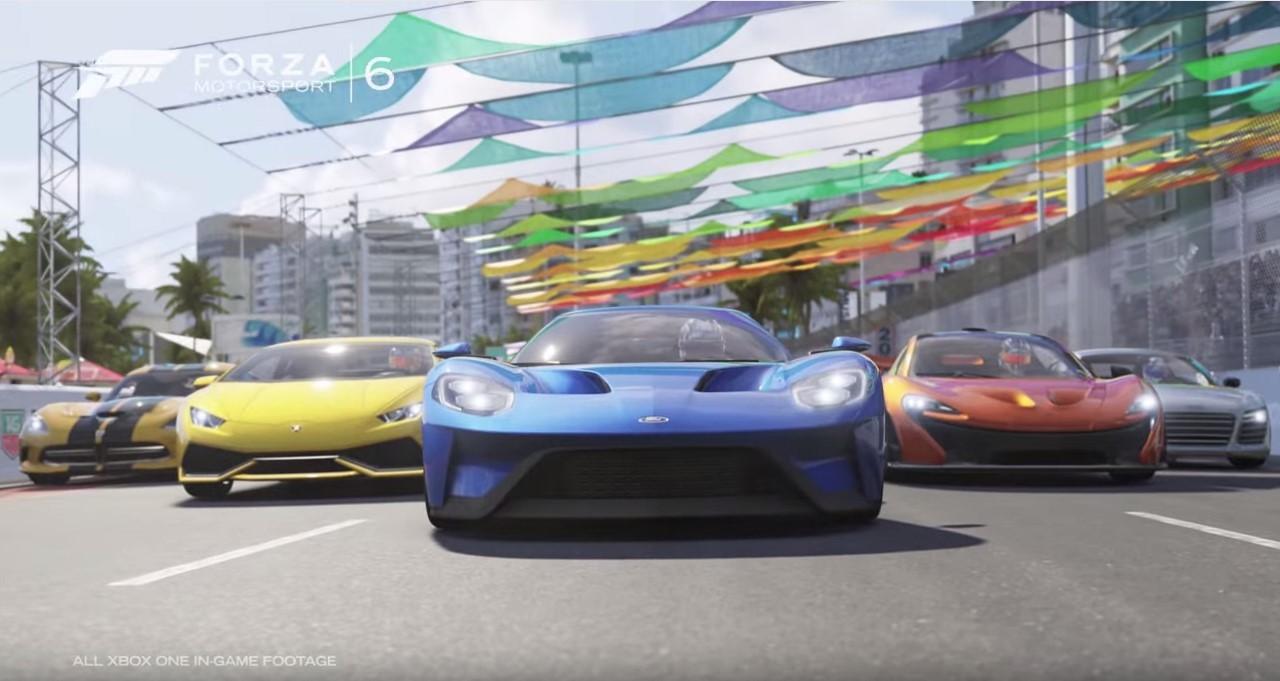 Forza Motorsport 6 : le trailer vidéo officiel