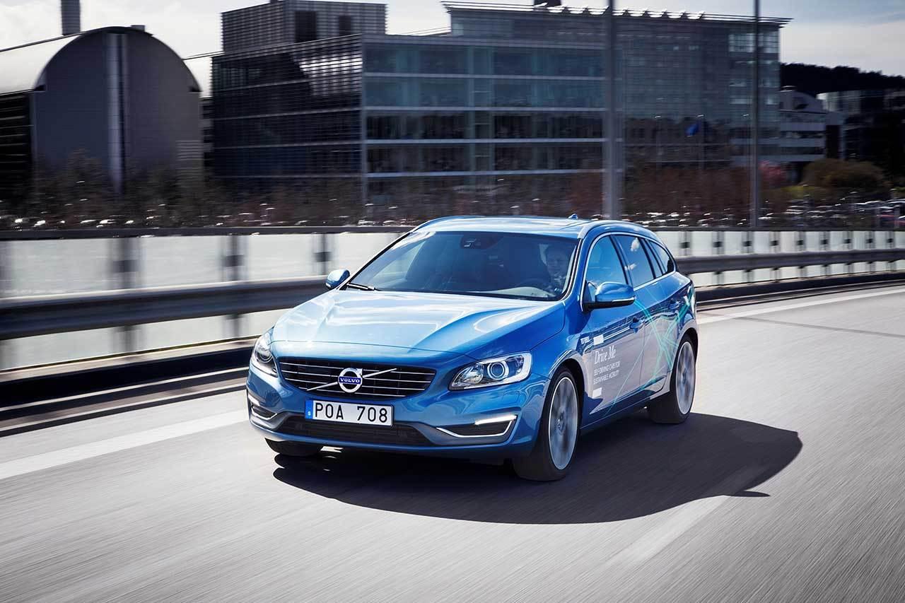 Volvo lâche ses premières voitures autonomes