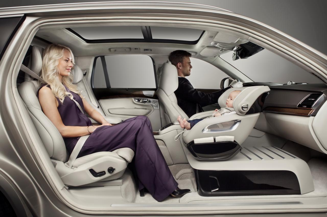 Chez Volvo, le président c'est bébé