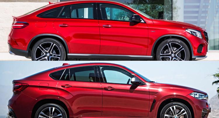 Mercedes GLE Coupé, une copie du BMW X6 ?