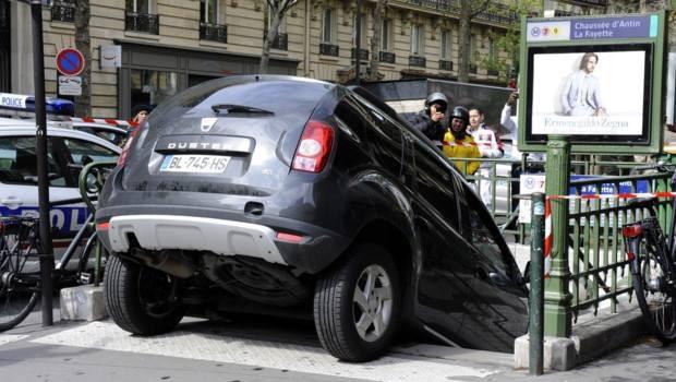 Photos les accidents de voiture les plus insolites 1 re photo 31auto - Accident de voiture coup du lapin ...