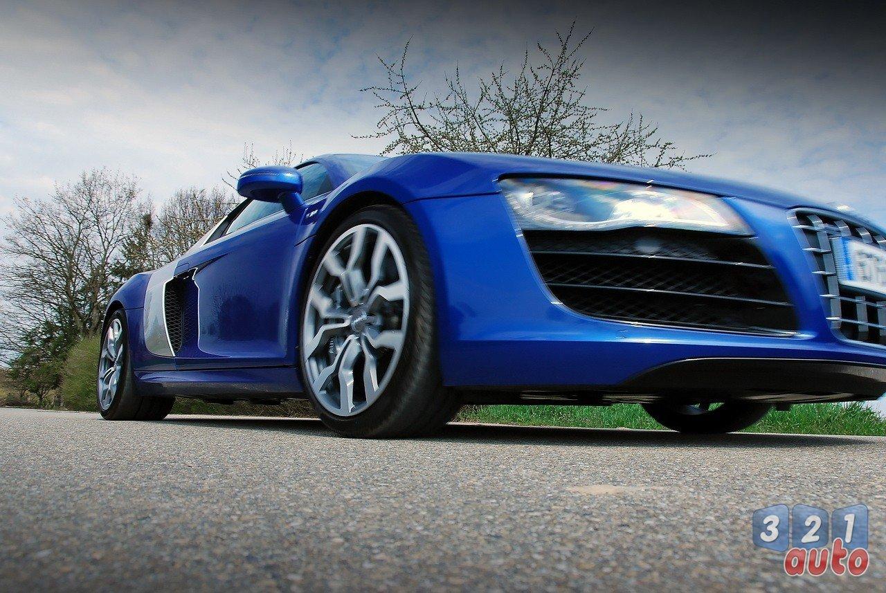 La R8 Audi cylindres