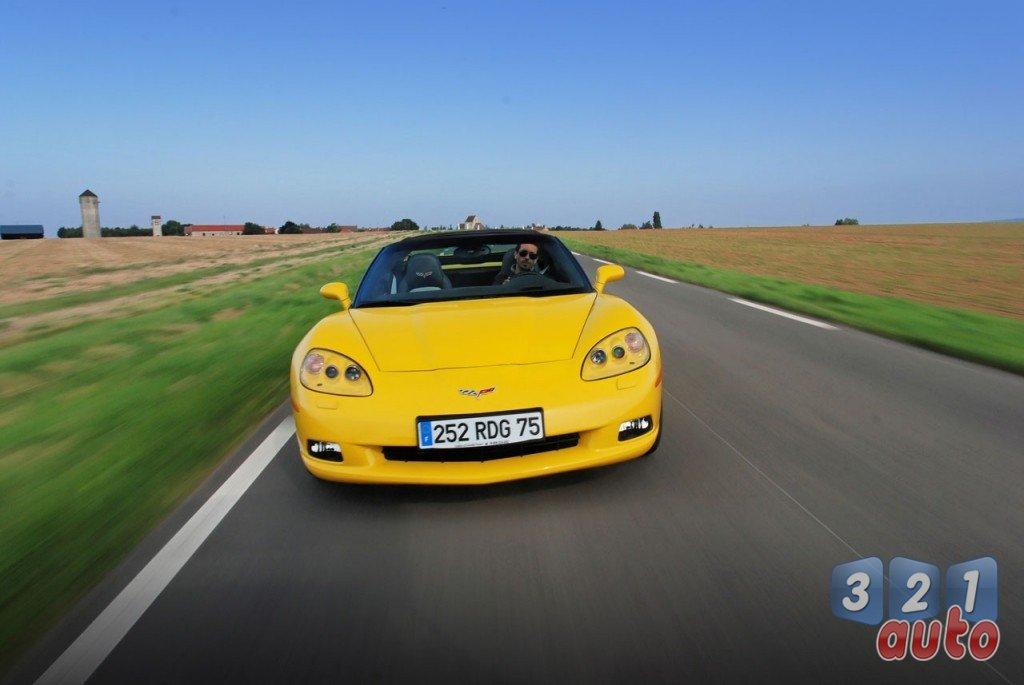 Une Corvette plus raffinée