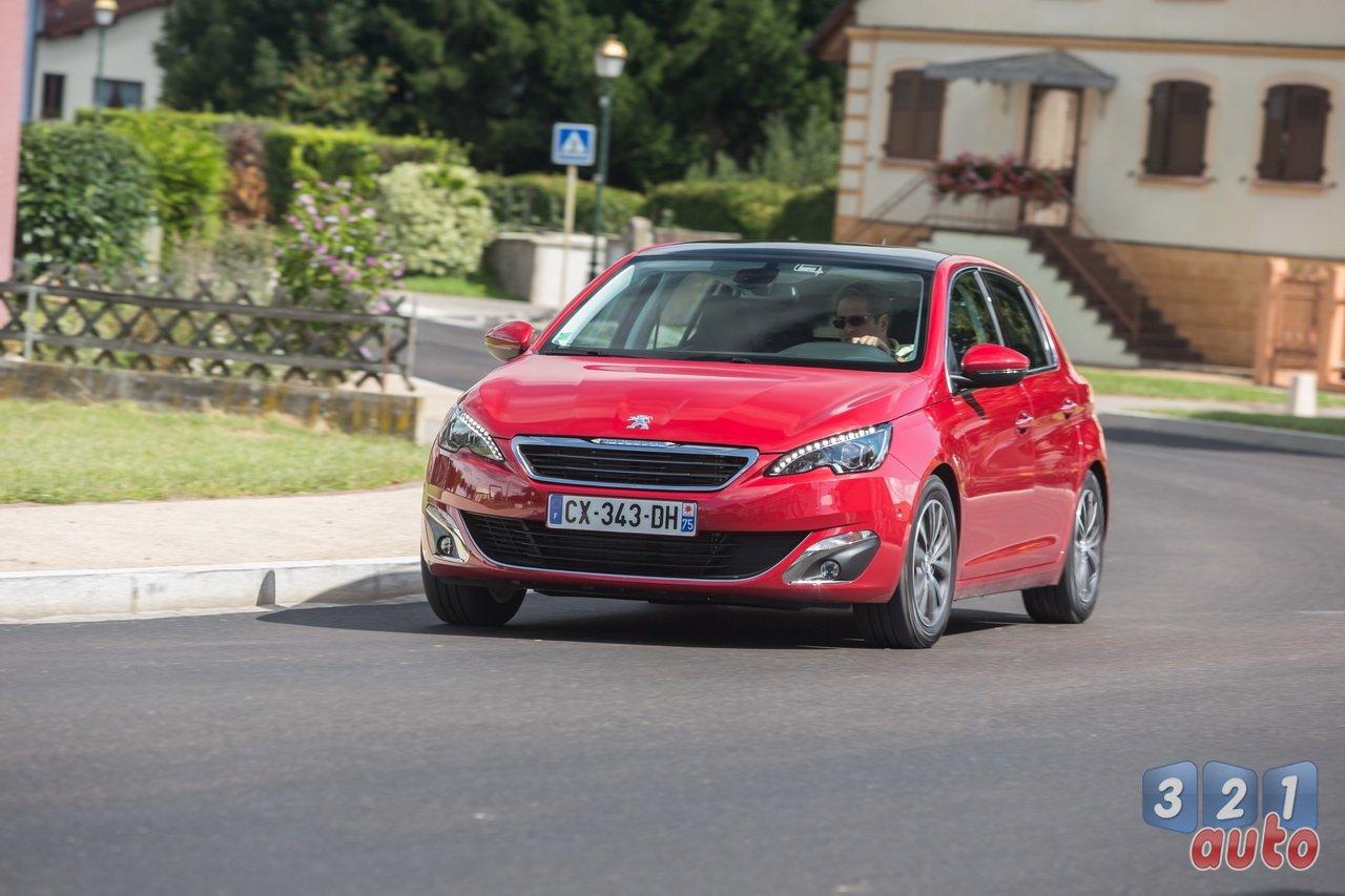 Premier essai du 1.6 HDI 92 de la nouvelle Peugeot 308