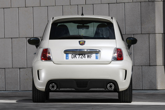 fiche technique abarth 500 1 4 turbo t jet 160ch 595 turismo bva l 39. Black Bedroom Furniture Sets. Home Design Ideas