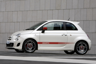 fiche technique abarth 500 1 4 turbo t jet 180ch 595 competizione l 39. Black Bedroom Furniture Sets. Home Design Ideas