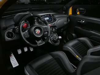 fiche technique abarth 500 1 4 turbo t jet 145ch 595 l 39. Black Bedroom Furniture Sets. Home Design Ideas