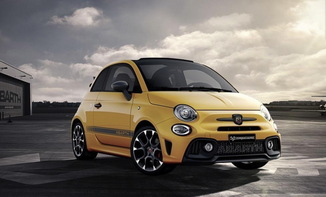 ABARTH 500C 1.4 Turbo T-Jet 165ch 595 Turismo MY17 BVA
