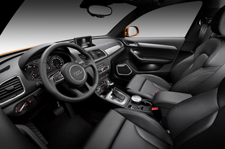 Fiche technique audi q3 2 0 tdi 177ch ambiente quattro s for Interieur q3 s line