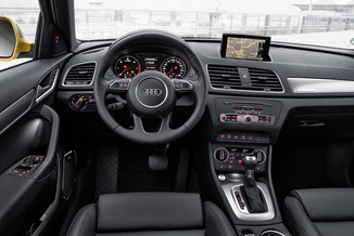 fiche technique audi q3 1 4 tfsi 150ch cod s line s tronic. Black Bedroom Furniture Sets. Home Design Ideas