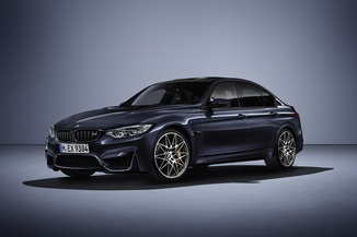 BMW M3 3.0 450ch Pack Competition M DKG