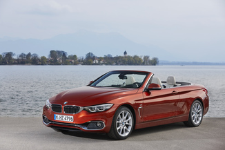 BMW Série 4 Cabriolet 420d 190ch Luxury