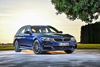 BMW Série 5 Touring 520d 190ch Luxury Euro6c