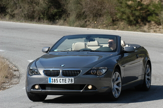 BMW Série 6 Cabriolet 630CiA 258ch Pack Luxe