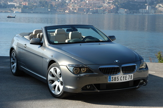 fiche technique bmw serie 6 cabriolet i e64 m6 2006. Black Bedroom Furniture Sets. Home Design Ideas